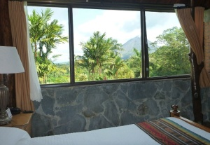 Arenal - room with a view