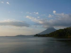 Granada - lake and volcano